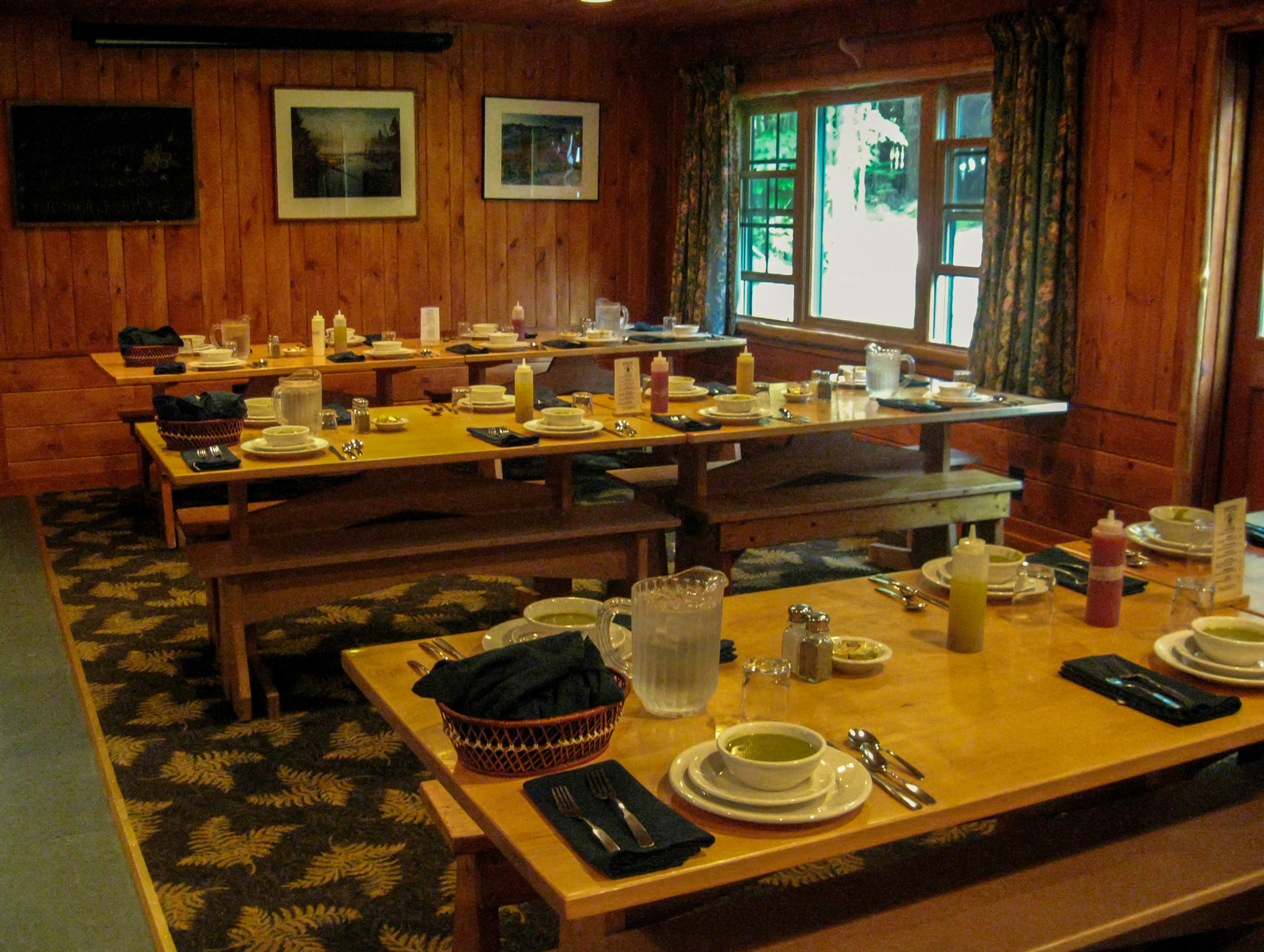 Adirondak Lodge Loj Heart Lake New York Adirondack