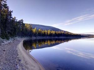 Finnish Lake Sunrise