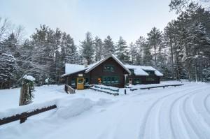 Adirondack Loj in Winter