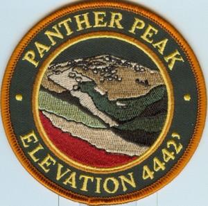 Panther Peak Patch