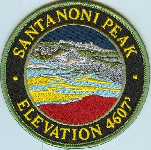 Santanoni Peak Patch