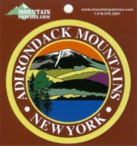 Adirondack Mountains Sticker