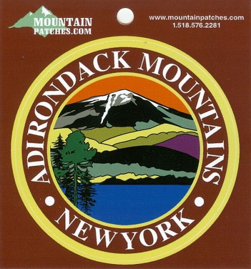 Adirondack Mountains Sticker