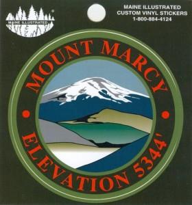 Mount Marcy Sticker
