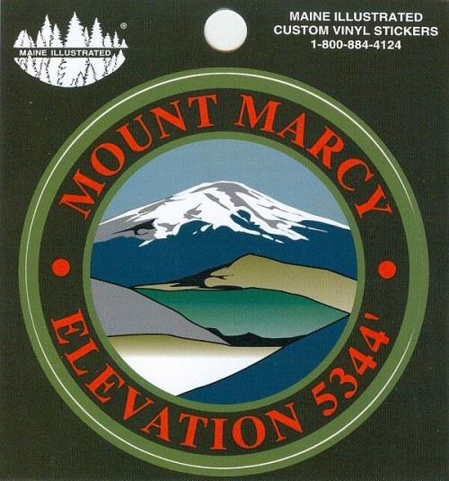 Mount Marcy Sticker