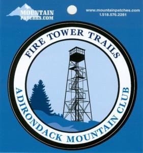 Fire Tower Trails Sticker