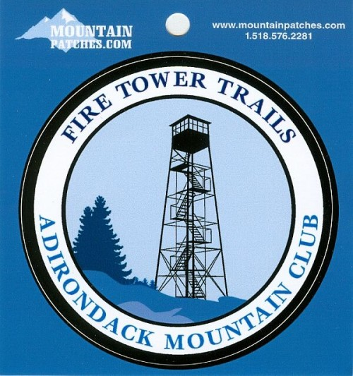 Fire Tower Trails Sticker
