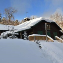 Johns Brook Lodge in the winter