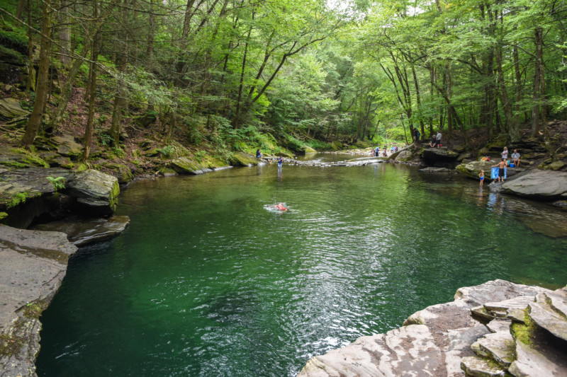 Blue Hole in the Catskills