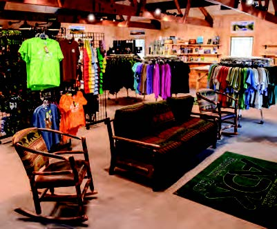 HPIC interior with merchandise