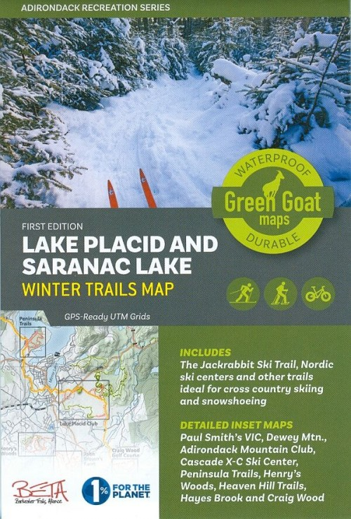 Lake Placid and Saranac Lake Winter Trails Map