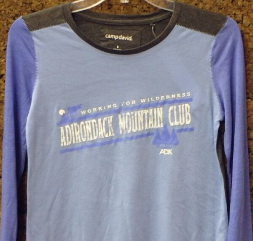 Women's ADK Long Sleeve Color Block Tee