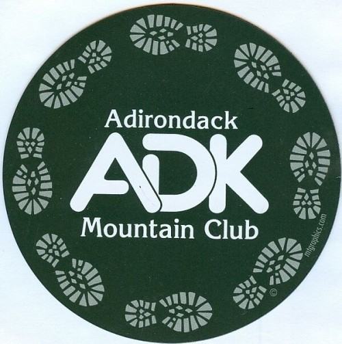 ADK Circle Boot Magnet