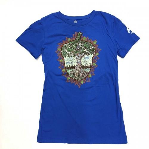 Blue acorn t-shirt