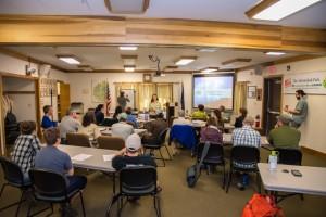 Classroom session for stewardship training