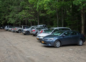 HPIC Parking lot with cars