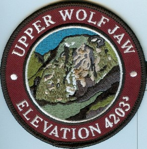 Upper Wolf Jaw Patch