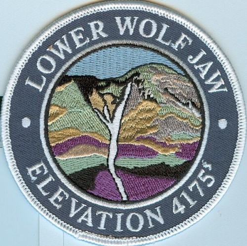 Lower Wolf Jaw Patch