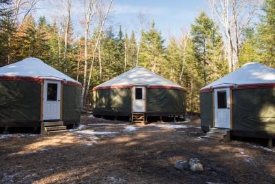 The ADK Yurt Village