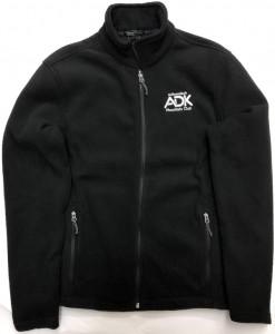 black men's fleece jacket