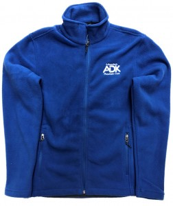 blue men's fleece jacket