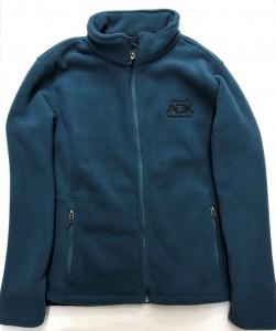 teal women's fleece jacket