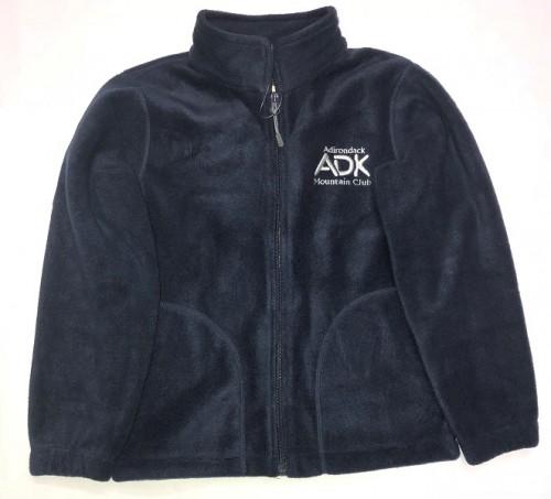 navy youth fleece jacket
