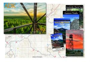 Maps, guidebooks, calendar
