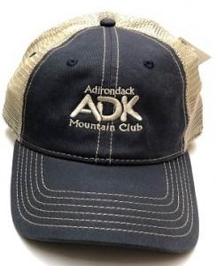 blue fossil pitstop trucker hat