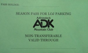 Image of parking pass