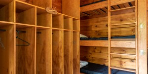 Grace Camp bunks and closet space