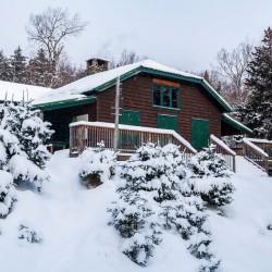 JBL exterior in winter