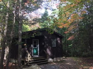 Campground Cabin Outside