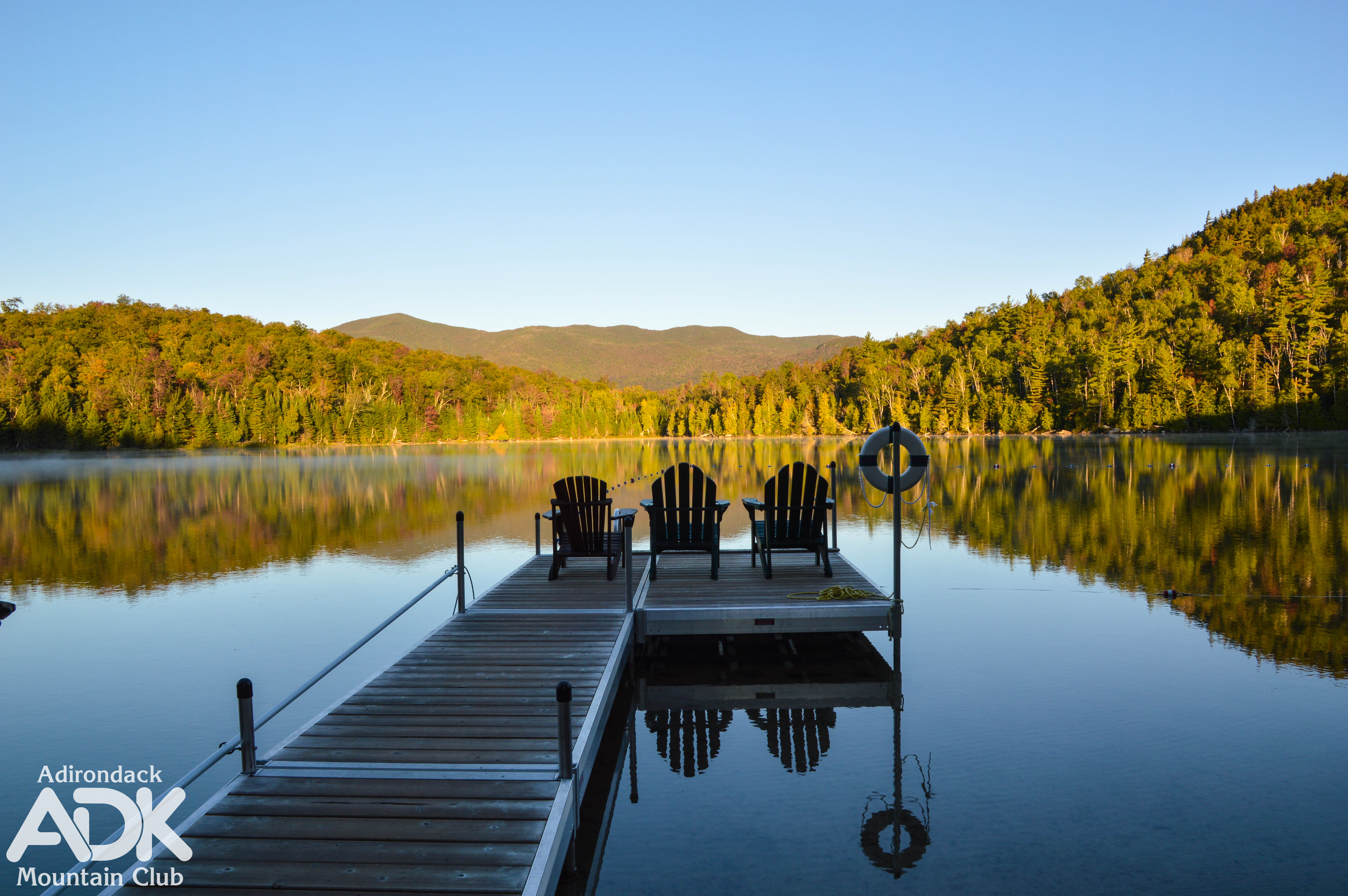 Adirondack Loj Dock