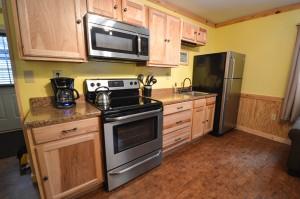 Tyler Cabin Kitchen