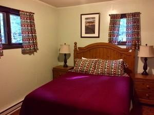 Tyler Cabin Queen Bedroom