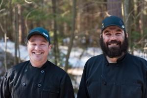 The Loj chefs, Dan and Kelvin