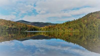 Heart Lake, autumn