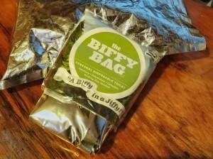 A biffy bag