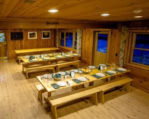 Adirondack Loj Dining Room
