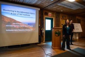 Alpine Steward makes presentation