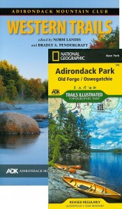 ADK Western Trails guide book and map pack