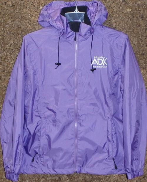 purple windbreaker