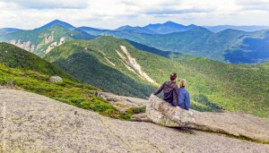 Couple on a Mountain