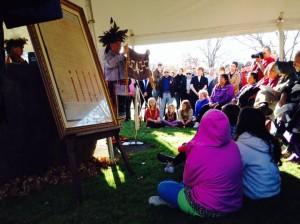 Annual Nov 11 Canandaigua Treaty Day, Canandaigua NY by Melissa Borgia-Askey