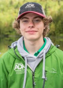 Portrait of Zach, a naturalist