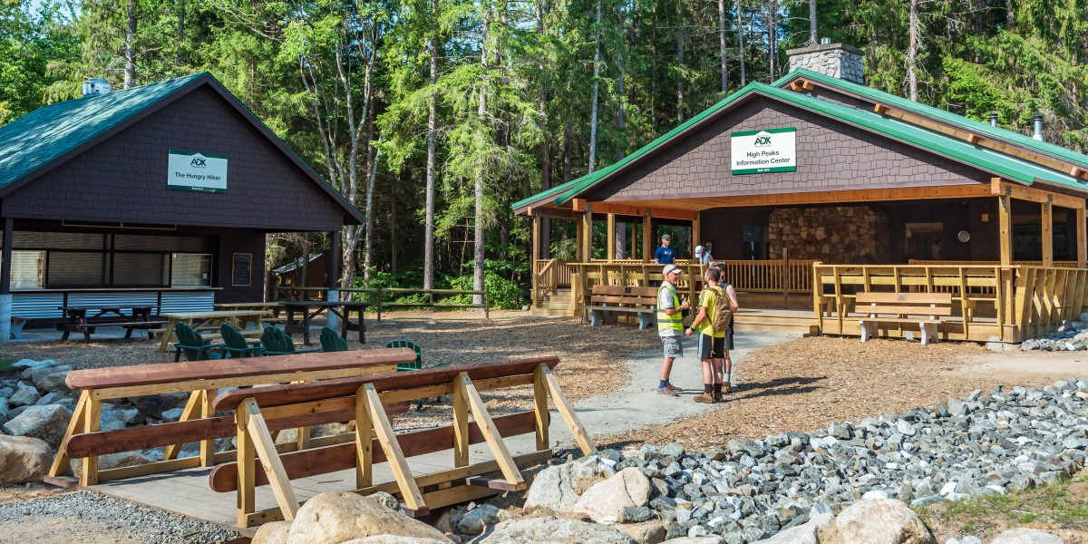 The High Peaks Information Center exterior
