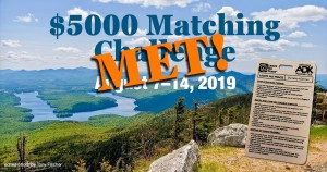 Leave No Trace $5000 Match Challenge met
