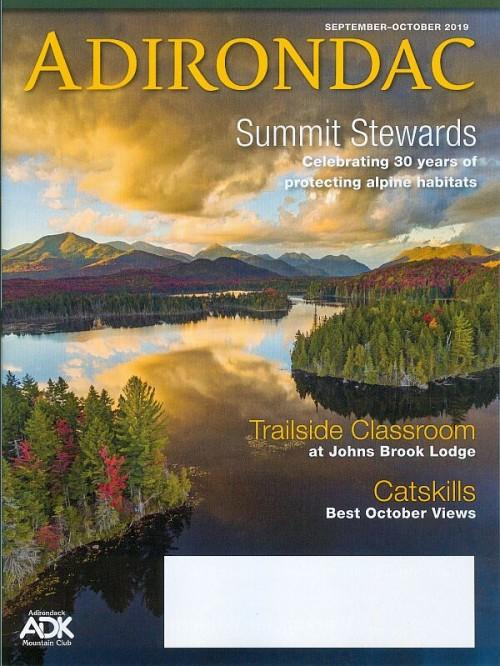Adirondac magazine September-October 2019 cover