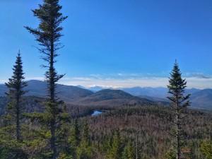 One of the viewpoints on Nun-da-ga-o Ridge
